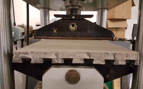 Lewis Deck load bearing test