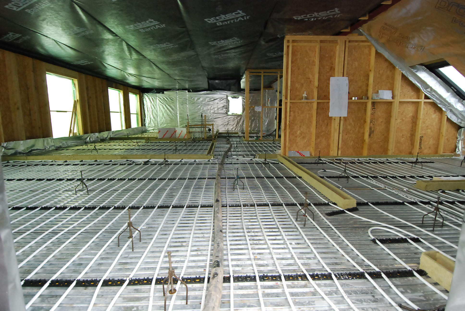 Underfloor Heating On Joisted Floors