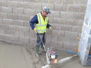 Tamping Concrete