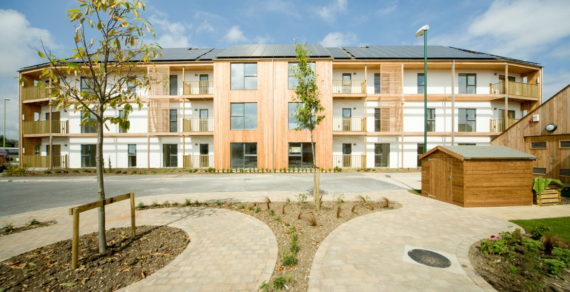 Zero Carbon Social Housing Apartments