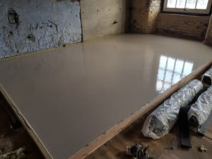 Screeded Test Floor.