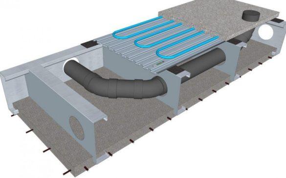 Lewis Steel Concrete Floor System