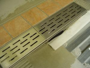 Lewis Deck Wet-Room drain